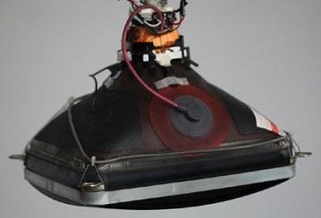 Электронно-лучевой прибор, преобразующий электрические сигналы в световые
