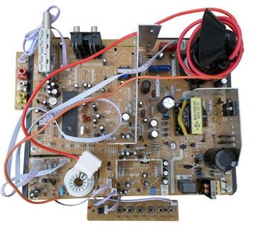 Принципиальная электрическая схема телевизора