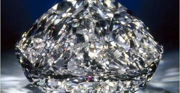 Ограненный алмаз
