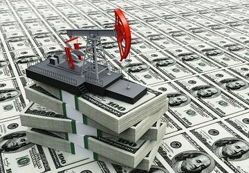 Стоимость нефти коррелирует с долларом