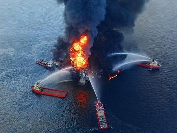 Горение нефтепродуктов