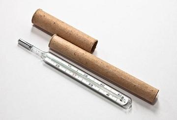 Ртуть используется в термометре