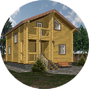 Дом ласточка