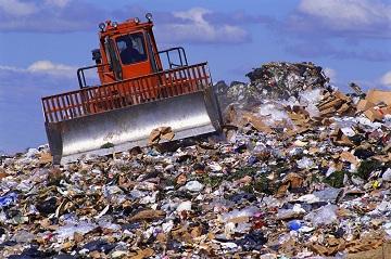 Полигон для мусора