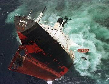 Крушение танкера
