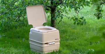 Туалет Porta Potti