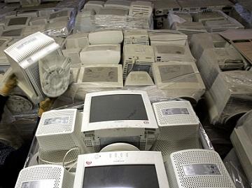 Утилизация старых мониторов