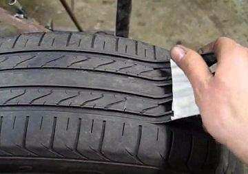 Восстановление старых шин