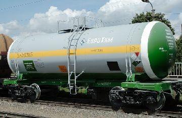 Цистерна с газом
