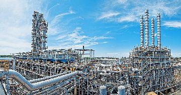 Крупная добыча газа