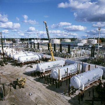 Агрегаты для добычи и хранения газа