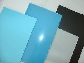 Форма полимера в виде листа