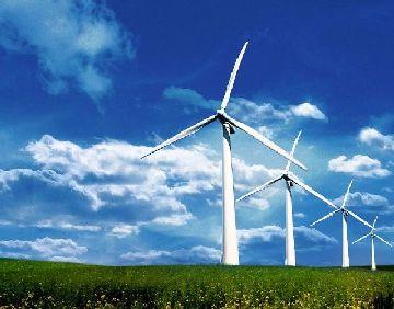 Ветряк на поле