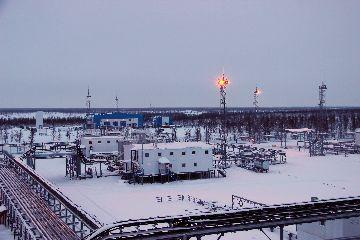 Промысле газа