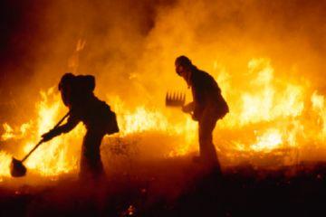 Гашение пожара
