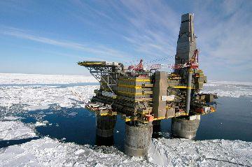 Добыча нефти зимой