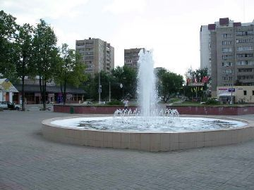 Городской фонтан