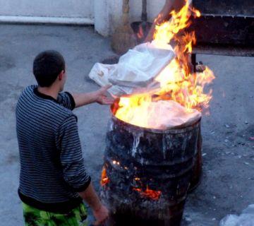 Сжигание мусора