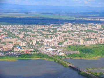 Город с высоты