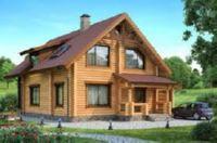дома из калиброванного бревна