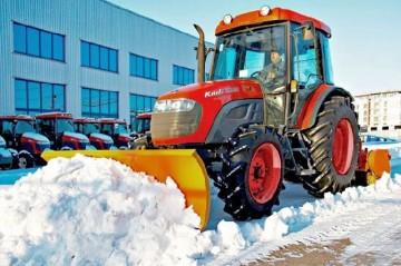 Техніка для чищення снігу