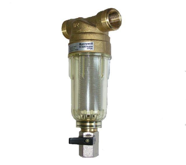 Проточный фильтр тонкой очистки