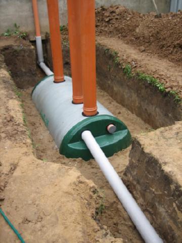 монтаж автономной канализации Flotenk