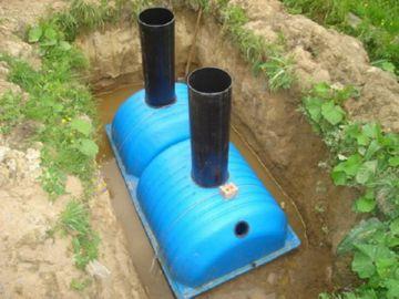 пластиковая автономная канализация