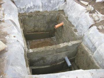 Септик из бетона своими руками