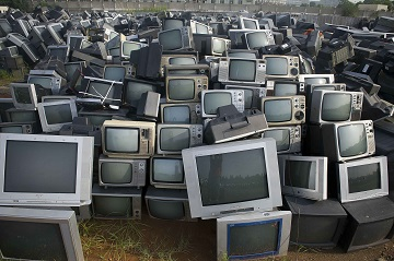 Кладбище телевизоров в Китае