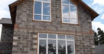 Частный дом из арболита