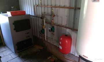 Пиролизный котел в системе отопления