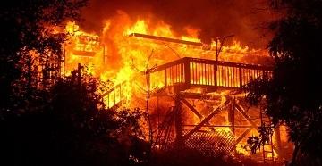 Опасность пожаров для жизни людей
