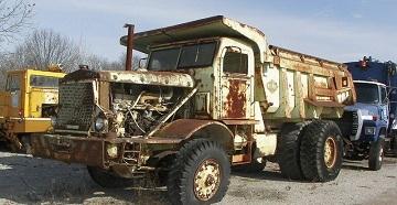 Утилизация старых грузовиков