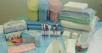 Комплект одноразовой медицинской одежды