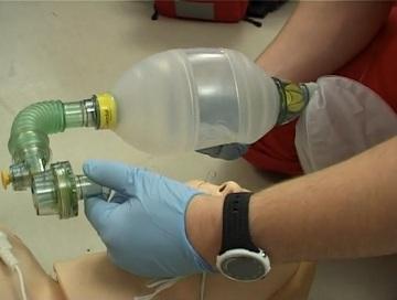 Мешок дыхательный реанимационный - применяемый в критических ситуациях