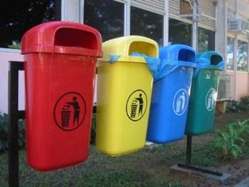 Сортировка мусора в Америке