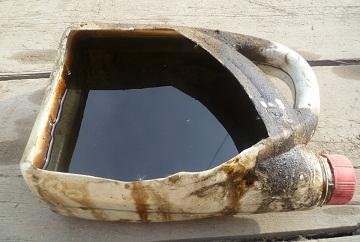 Отработанные нефтепродукты