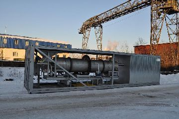 Заводская установка по переработке