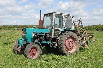 Трактор украинского производства