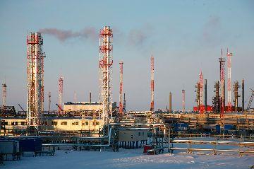 Место добычи газа