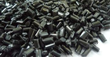 Черный цвет полимера