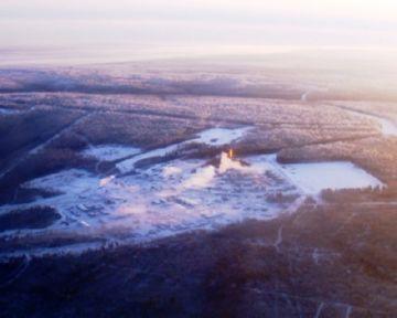 Месторождение нефти возле Иркутска