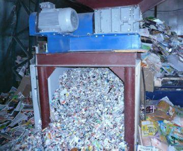 Переработка бумаги