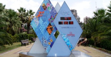 Знаменитые часы Олимпиады