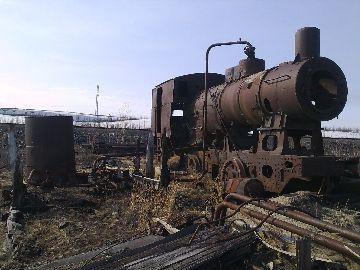 Бывшая железнодорожная станция