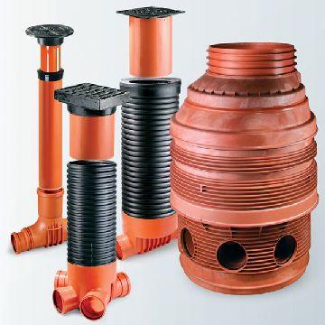 Составные части канализационного колодца