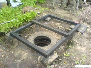 Выкопаная яма