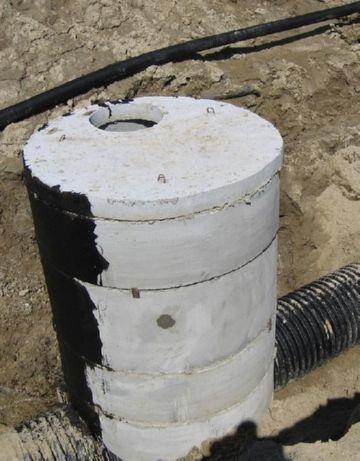 как правильно монтировать выгребную яму