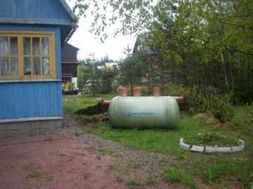 автоносная канализация на даче